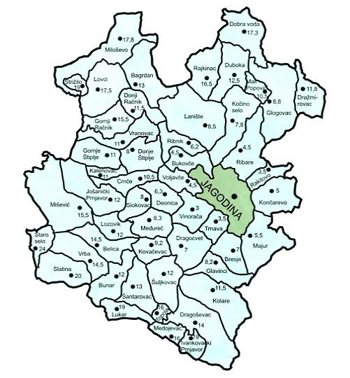 jagodina mapa Agencija Za Mala i Srednja Preduzeca Jagodina   Kontakt Telefon Adresa jagodina mapa
